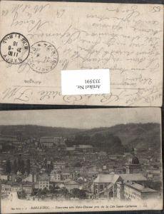 333591,Lothringen Meuse Bar-le-Duc Panorama vers Notre-Dame pris de la Cote Sainte-Catherine Totale