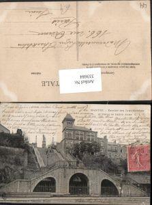 333684,Pays de la Loire Loire-Atlantique Nantes Escalier des Cent-Marches et Statue de Sainte Anne