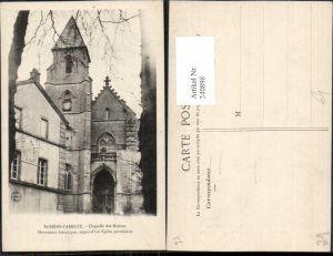 340898,Burgund Cote-Or St-Seine-l'Abbaye Chapelle des Moines Kirche
