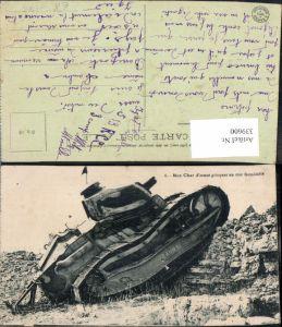 339600,WW1 Waffen Technik Mon Char d assaut grimpant un mur formidalbe Panzer