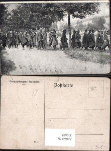 339603,WW1 Kriegsgefangene Franzosen