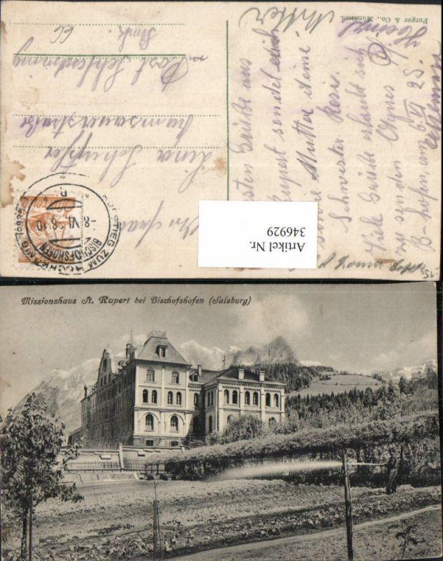 346929,Missionshaus St. Rupert b. Bischofshofen Bergkulisse