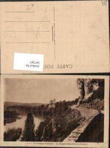 347387,Aquitanien Dordogne Le Cingle a Montfort Straße Fluss
