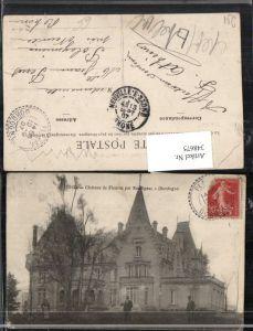 348675,Aquitanien Dordogne Chateau de Fleurac par Rouffignac Schloss