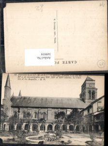 349939,Pays de la Loire Maine-et-Loire Fontevrault L Abbaye le Cloitre et la chapelle Kloster Kapelle
