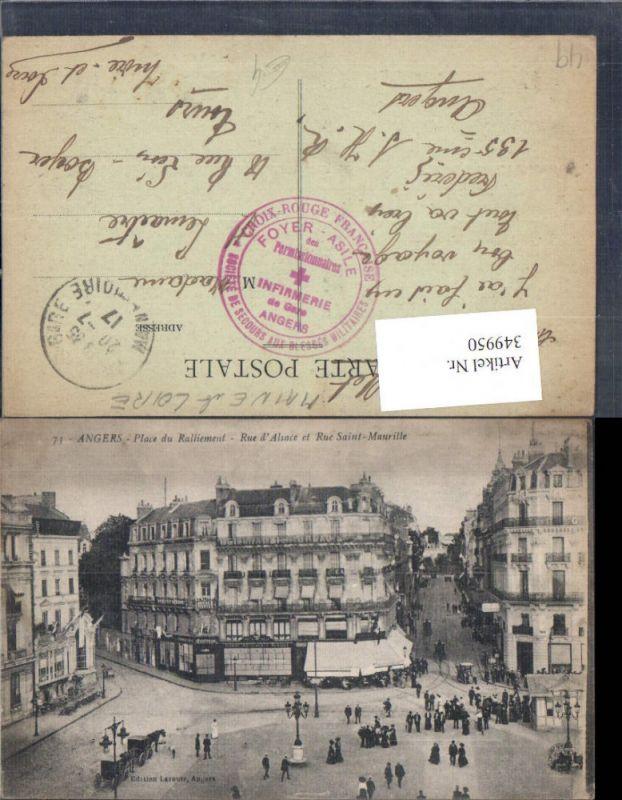 349950,Pays de la Loire Maine-et-Loire Angers Place du Ralliement Rue d Alsace et Rue Saint-Maurille