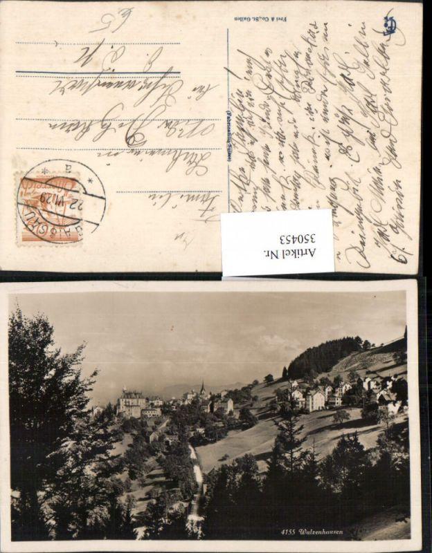 350453,Walzenhausen Totale Kt Appenzell