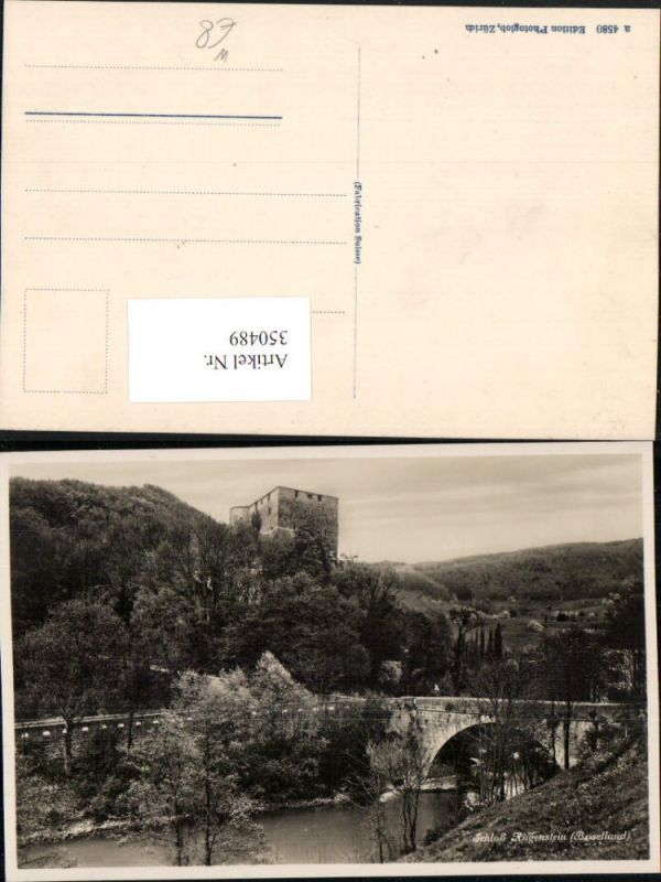 350489,Schloss Angenstein b. Duggingen Brücke Kt Basel-Land 0