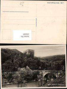 350489,Schloss Angenstein b. Duggingen Brücke Kt Basel-Land