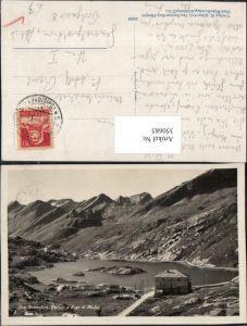350685,San Bernardino Ospizio e Lago di Moesa Hospiz Bergkulisse Kt Graubünden