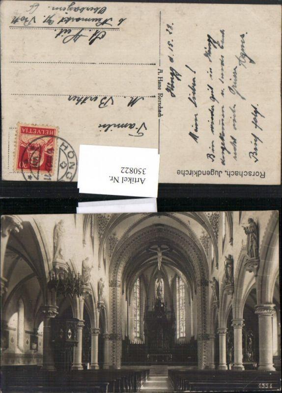 350822,Rorschach Jugendkirche Kirche Innenansicht Kanzel Kt St Gallen