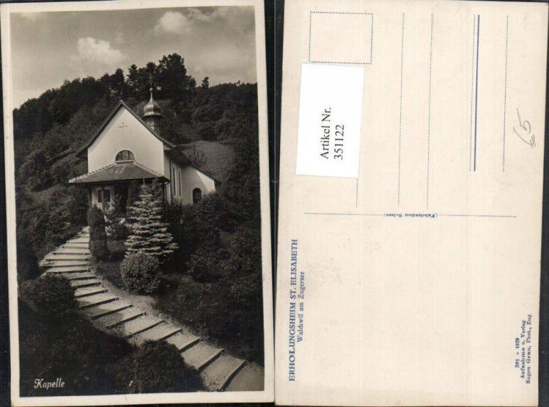 351122,Walchwil am Zugersee Kapelle Kt Zug