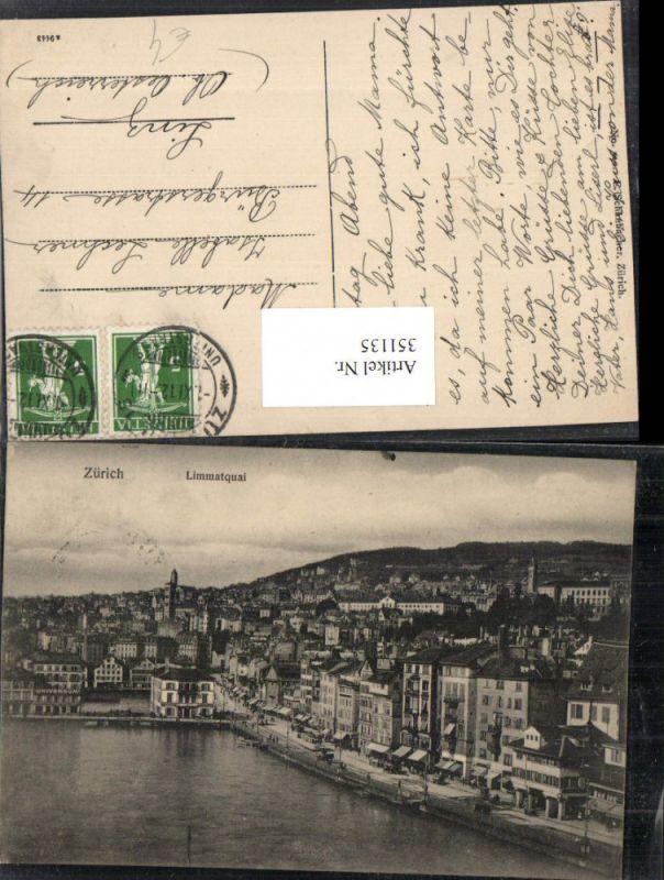 351135,Zürich Totale Limmatquai