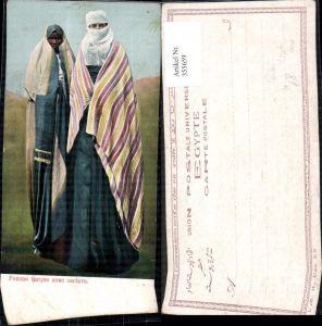355659,Volkstypen Femme turque avec esclave Frauen Türkei Ägypten Cairo