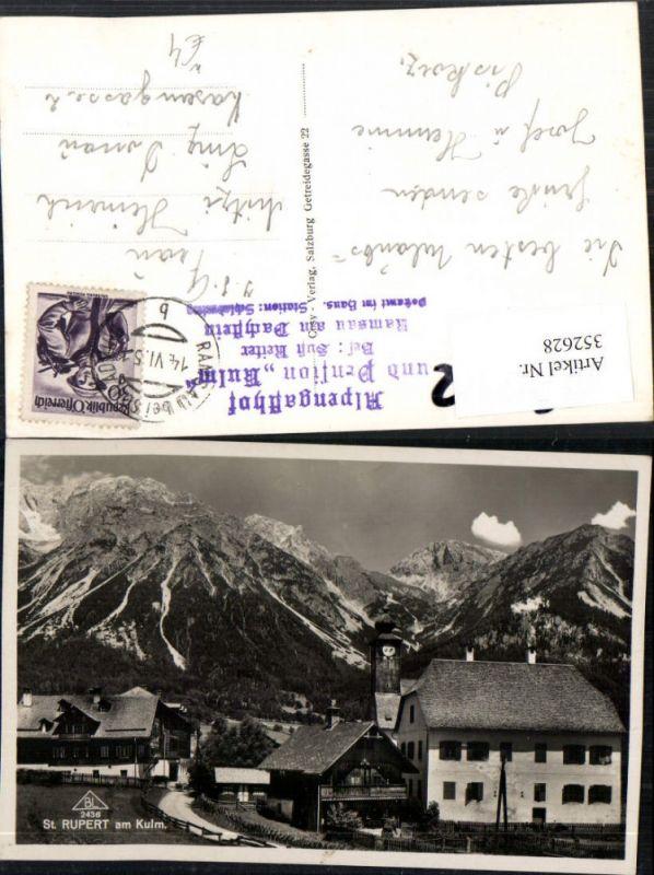 352628,St. Rupert am Kulm Teilansicht Kirche Bergkulisse