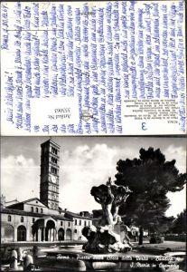 353063,Lazio Roma Rom Piazza della Bocca della Verita Basilica di S. Maria in Cosmedin Kirche