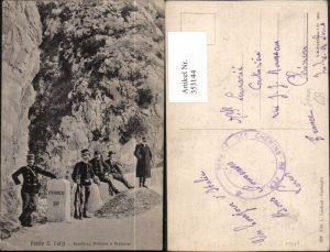 353144,Liguria Imperia Ventimiglia Ponte San Luigi Frontiera Italiana e Francese Grenze