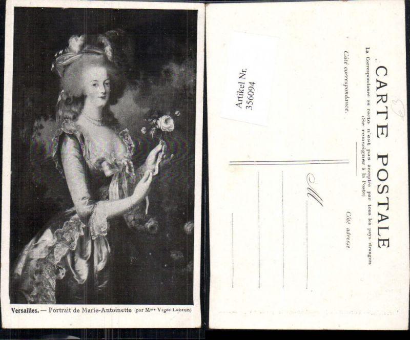 356094,Künstler Ak Portrait de Marie-Antoinette Adel Monarchie