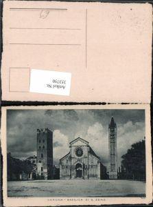 353750,Veneto Verona Basilica di S. Zeno Kirche