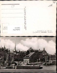 356715,Basse-Normandie Calvados Honfleur Le port et la Lieutenance Hafen Segelboote