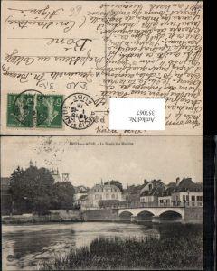 357067,Champagne-Ardenne Aube Arcis-sur-Aube Le Bassin des Moulins Brücke