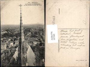 357303,Centre Loiret Orleans Le Clocher de la Cathedrale Kirche Glockenturm