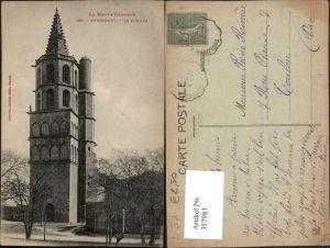 357983,Midi-Pyrenees Haute-Garonne Avignonet Le Clocher Glockenturm Turm