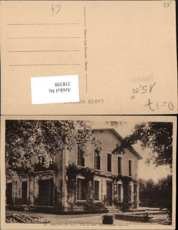 358398,Poitou-Charentes Charente-Maritime Saujon Villa du Parc Etablissement Thermal