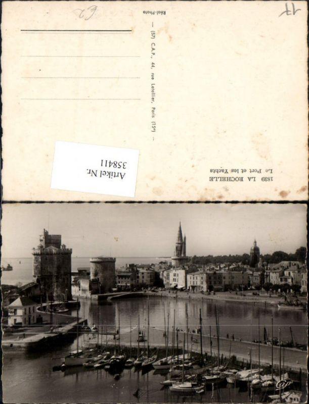 358411,Poitou-Charentes Charente-Maritime La Rochelle Le Port et les Yachts Hafen Türme