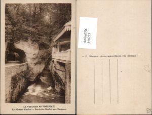 358755,Rhone-Alpes Isere Les Grands Goulets Sortie des Goulets aux Baraques