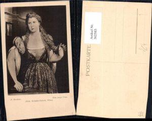362503,Künstler Ak P. Bordonne Ein junge Frau Portrait pub J. Löwy 7