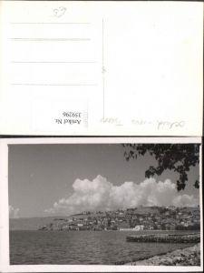 359296,Foto AK Ochrid Ohrid Teilansicht Küste Ufer