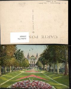 359469,Monaco Monte-Carlo Les Jardins et le Casino Garten Park