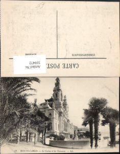 359472,Monaco Monte-Carlo Le Casino et les Terrasses Palmen
