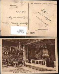 359479,Monaco Le Palais du Prince Fürstenpalast La Chambre d'York Schlafzimmer