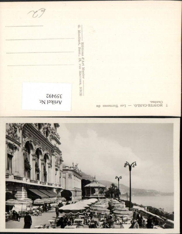 359492,Monaco Monte-Carlo Les Terrasses du Casino Terrasse 0