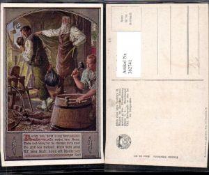 362741,Deutscher Schulverein 803 Künstlerkarte F. Kuderna Schmied Handwerk