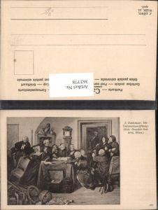 362778,Künstler Ak J. Danhauser Die Testamentseröffnung pub J. Löwy 160