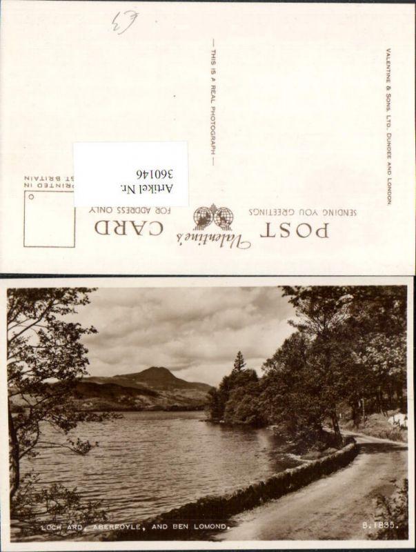 360146,Scotland Stirling Aberfoyle Loch ard and Ben Lomond See