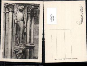 364644,Statue Cathedrale de Strasbourg Straßburg La Synagogue Die Synagoge