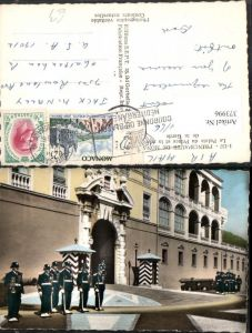 373996,Monaco Le Palais du Prince Garde Wache