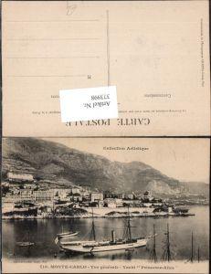 373998,Monaco Monte-Carlo Vue generale Yacht Princesse-Alice Dampfer