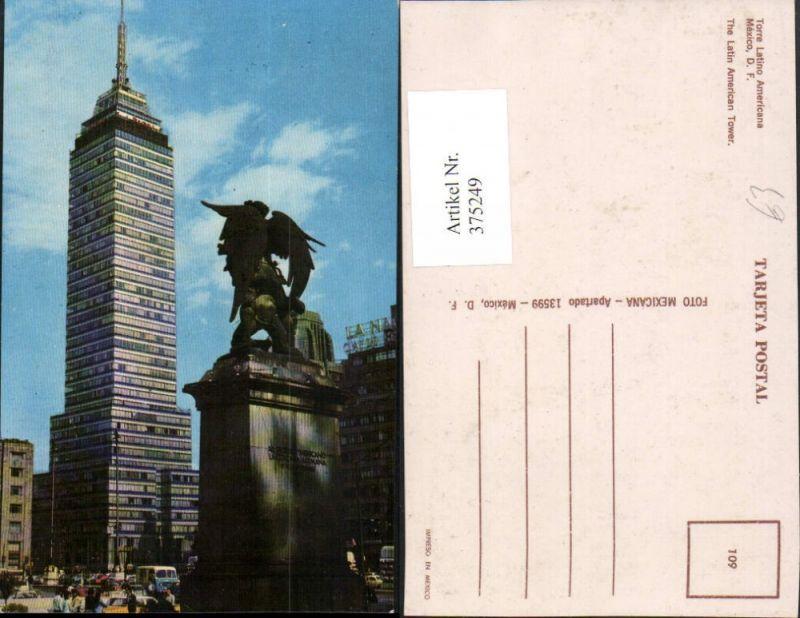 375249,Mexico Torre Latino Americana Tower Turm Denkmal Statue