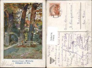 376018,Deutscher Schulverein 2001 Künstler A. Marussig Hamerlings Wohnsitz Stiftinghaus b. Graz