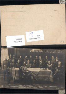 380294,Adel Aus großer Zeit Hindenburg Bülow Heeringen Wilhelm v. Preussen Ludendorff pub NPG 5090