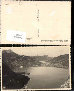 377603,Attersee See von d. Madlschneid b. Steinbach Bergkulisse