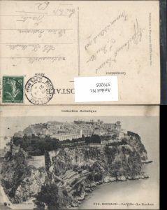 379205,Monaco La Ville Le Rocher Totale