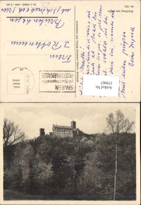 379907,Eisenach Wartburg von Osten