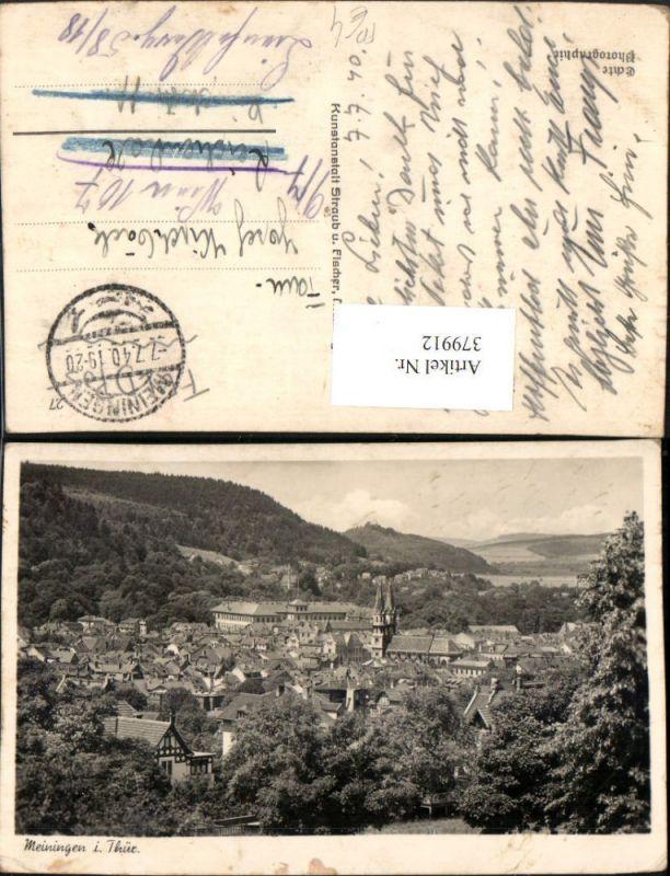 379912,Meiningen in Thüringen Totale Feldpost