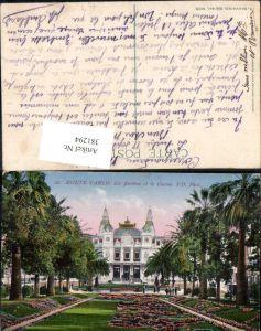 381294,Monaco Monte-Carlo Les Jardins et le Casino Kasino Gartenanlagen